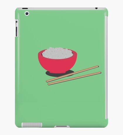 Asian rice  iPad Case/Skin