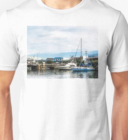 Boats at Bridgetown Barbados Unisex T-Shirt