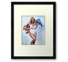 Beyonce Framed Print