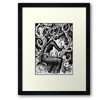 Sad elf Framed Print