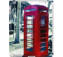The Red Booth  iPad Case/Skin