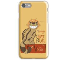 Le Chat bus iPhone Case/Skin