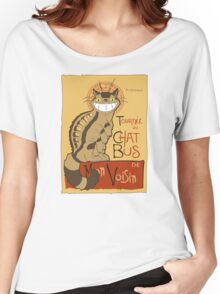 Le Chat bus Women's Relaxed Fit T-Shirt