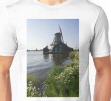 The Iconic Windmills of  Holland  Unisex T-Shirt