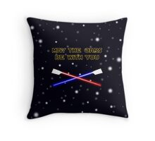 May the oars be with you Throw Pillow