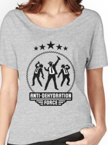 Anti-Dehydration Force (Beer Drinking Team) Women's Relaxed Fit T-Shirt