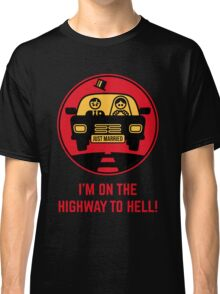 Just Married – I'm On The Highway To Hell (3C) Classic T-Shirt