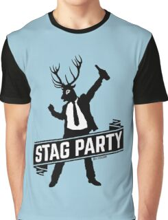Stag Party / Bachelor Party Graphic T-Shirt