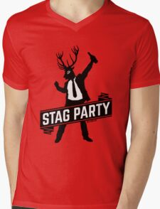 Stag Party / Bachelor Party Mens V-Neck T-Shirt
