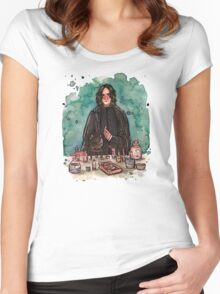 Severus Snape, potions master Women's Fitted Scoop T-Shirt