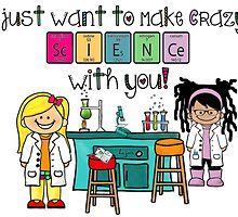 I just want to make Crazy Science with you! - Cosima & Delphine by F4FShoppe