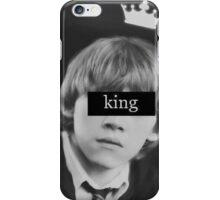 King weasley iPhone Case/Skin