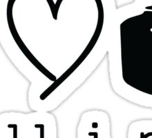 Music Love And Cmera is all i need Sticker