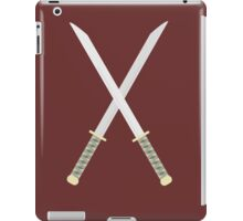 samurai swords  iPad Case/Skin