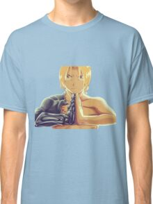 Fullmetal Awesomeness (Digital Painting of Edward Elric from the Manga/Anime Fullmetal Alchemist)  Classic T-Shirt