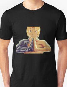 Fullmetal Awesomeness (Digital Painting of Edward Elric from the Manga/Anime Fullmetal Alchemist)  T-Shirt