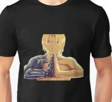 Fullmetal Awesomeness (Digital Painting of Edward Elric from the Manga/Anime Fullmetal Alchemist)  Unisex T-Shirt