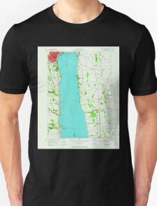 New York NY Geneva South 129495 1953 24000 T-Shirt