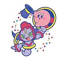 Hoopa and Kirby Photographic Print