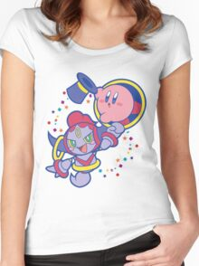 Hoopa and Kirby Women's Fitted Scoop T-Shirt