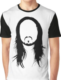 Steve Aoki Face Graphic T-Shirt