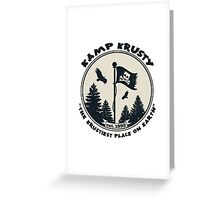 Kamp Krusty Greeting Card