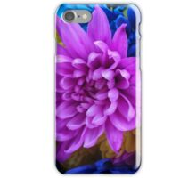 Beautiful Colored Flowers iPhone Case/Skin