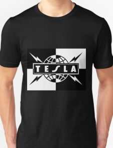 tesla band tour dates logo  Unisex T-Shirt
