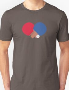 table tennis bat and ball  T-Shirt