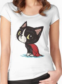 Super cat Women's Fitted Scoop T-Shirt
