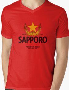 Sapporo Mens V-Neck T-Shirt