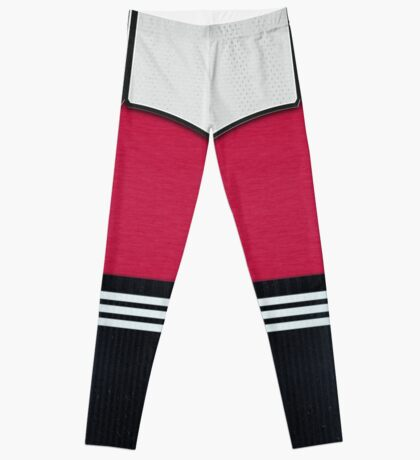 retro soccer r Leggings