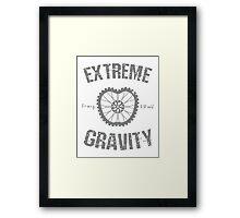 Extreme Gravity Framed Print