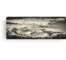 Mountain View Canvas Print