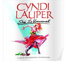 CYNDI LAUPER SHE'S SO UNUSUAL Poster