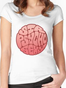 Sir Psycho Sexy Women's Fitted Scoop T-Shirt
