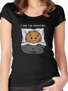 I see the monster Women's Fitted Scoop T-Shirt