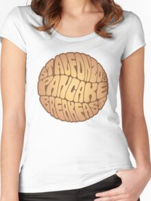 St. Alfonzo's Pancake Breakfast Women's Fitted Scoop T-Shirt