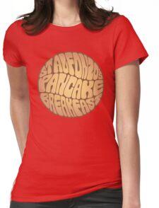 St. Alfonzo's Pancake Breakfast Womens Fitted T-Shirt