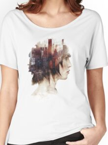 Surrealism in the City Women's Relaxed Fit T-Shirt