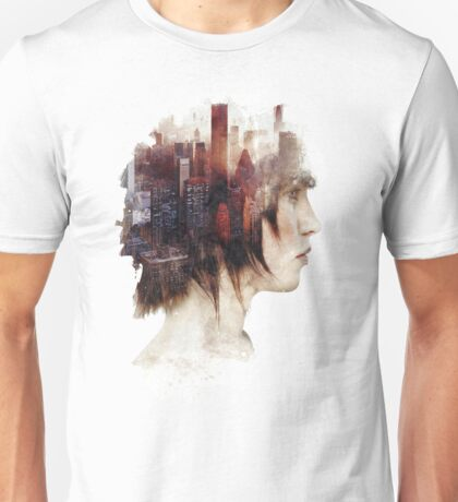 Surrealism in the City Unisex T-Shirt