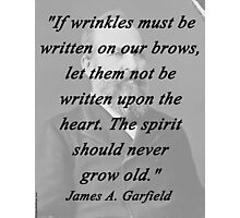 Garfield - Wrinkles Photographic Print