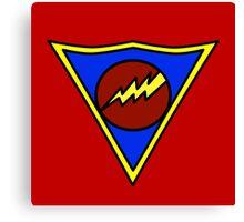 Super Sonic Man Canvas Print