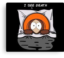 I see death Canvas Print