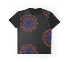 color lace on black Graphic T-Shirt
