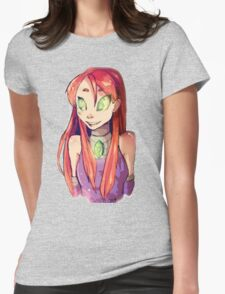 Startfire_Teen Titans Womens Fitted T-Shirt