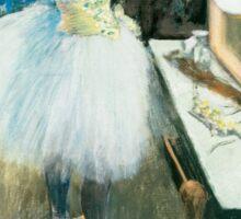 Edgar Degas - Dancer in Her Dressing Room ( 1879) Sticker