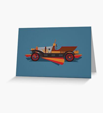 Chitty Chitty Bang Bang - Blue Greeting Card