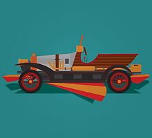 Chitty Chitty Bang Bang - Green by David Wildish