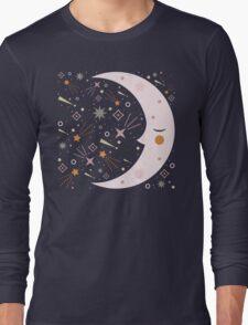 Mr Moon Long Sleeve T-Shirt